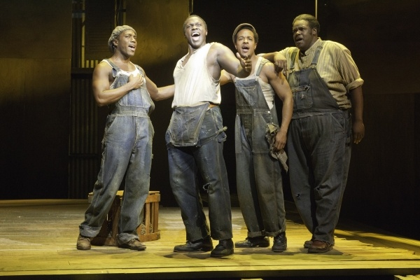 The Gershwins' Porgy and Bess Production Photos: Wilkie Ferguson, Joshua Henry, Trevon Davis, Roosevelt André Credit