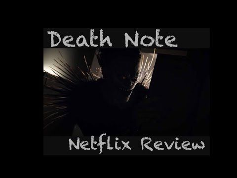 Death Note Netflix Review - YouTube