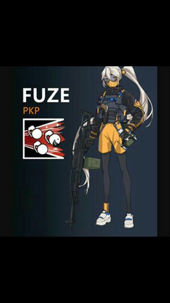 Fuze X Pkp Shooter Cod Bf R6s Pinterest Rainbow 6 Seige