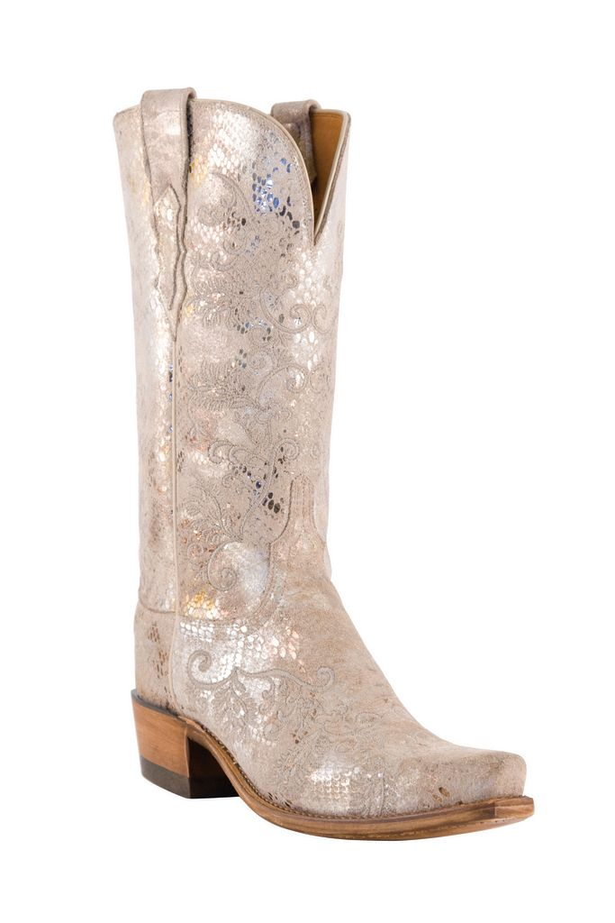 Cowboy boots for the country rustic bride