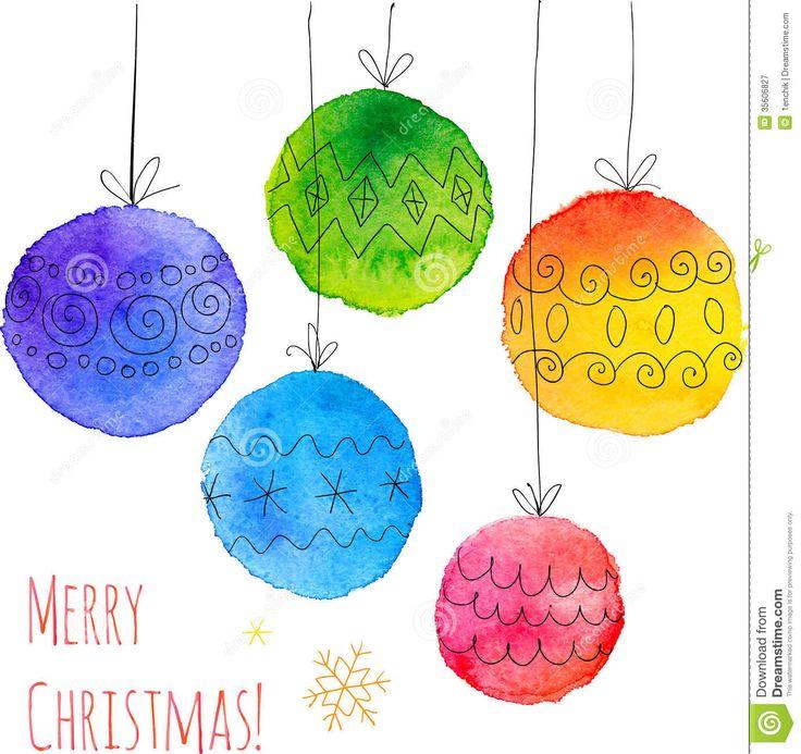 Bolas Dibujadas Mano Pintadas Acuarela De La Navidad - Descarga De Over 57 Millones de fotos de alta calidad e imágenes Vectores% ee%. Inscríbete GRATIS hoy. Imagen: 35606827