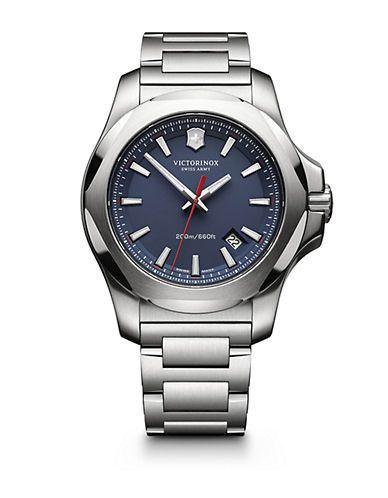 Victorinox Swiss Army I.N.O.X. Stainless Steel Link Bracelet Watch - B