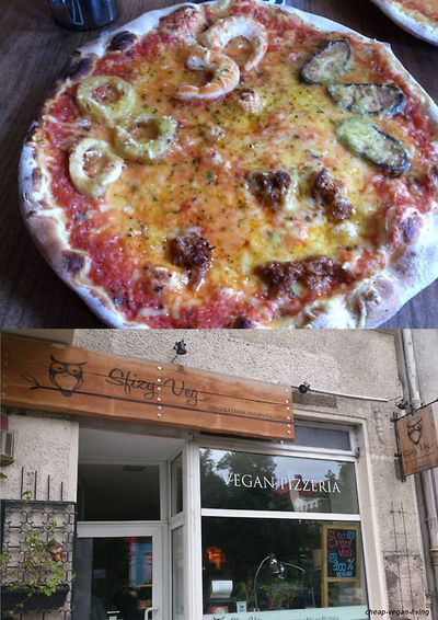 Berlin is paradise for vegans!! :D the best pizzeria EVER is definitely Sfizy Veg with more than 100 different vegan pizzas.