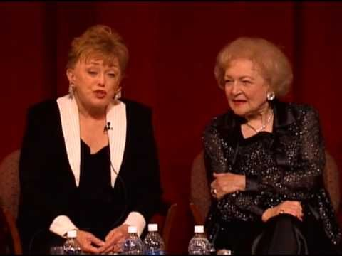 """Betty White Talks About """"Golden Girls"""" Costumes from Rue McClanahan's Estate - YouTube"""