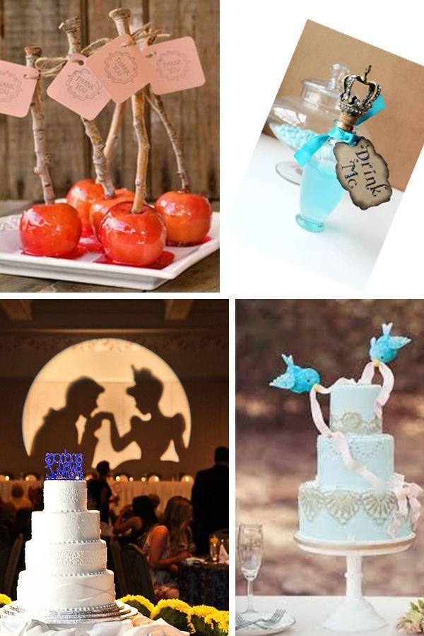 Una boda inspirada en Disney