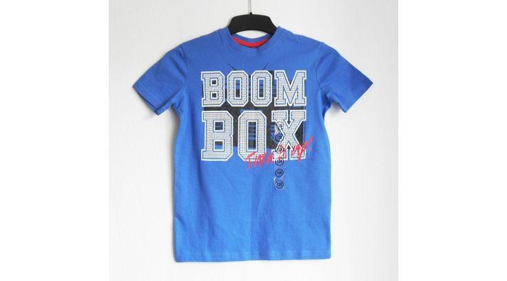 kék fiú póló