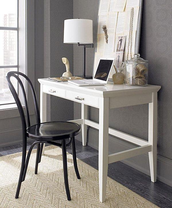 white lacquer office desk decoist - White Desk