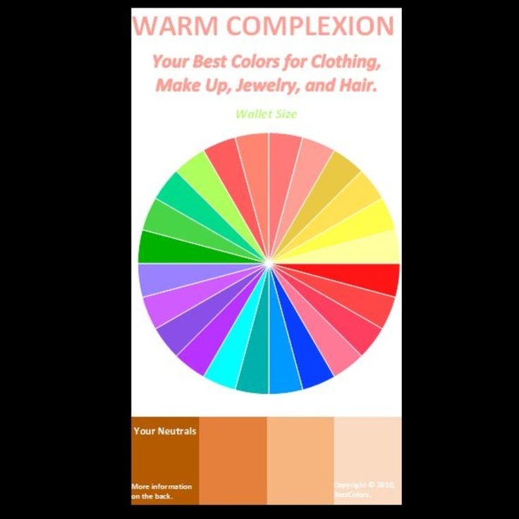 Warm Beauty Color Analysis Best Colors For Warm