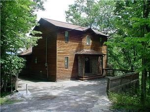 Gatlinburg, TN: The moon will shine on you when you capture a moment away in the mountains. $350 a night.