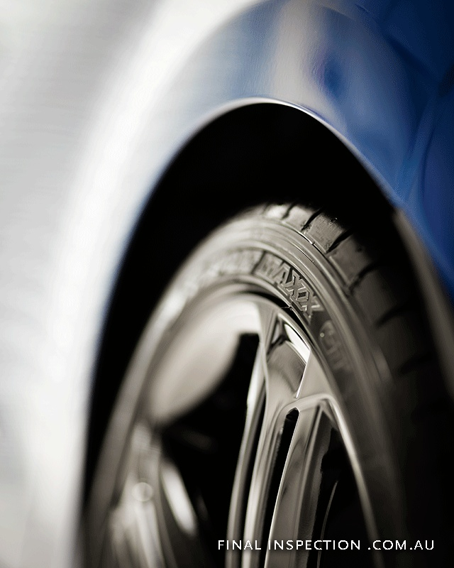 Golf R wheel & tyre