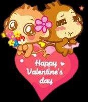 Happy valentines day. ♥♥