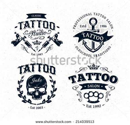 39 best images about tattoo studio logo on pinterest