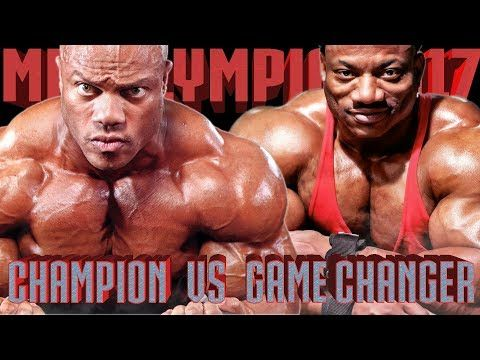 "Phil Heath ""GIFTED"" VS Dexter ""THE BLADE"" Jackson - 10 DAYS OUT ROAD TO MR OLYMPIA 2017 - YouTube"
