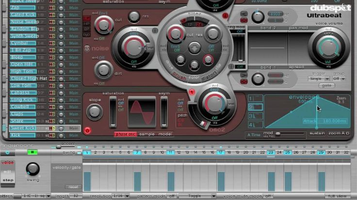Logic Pro Tutorial: Ultrabeat - Drum Synthesis (+playlist)