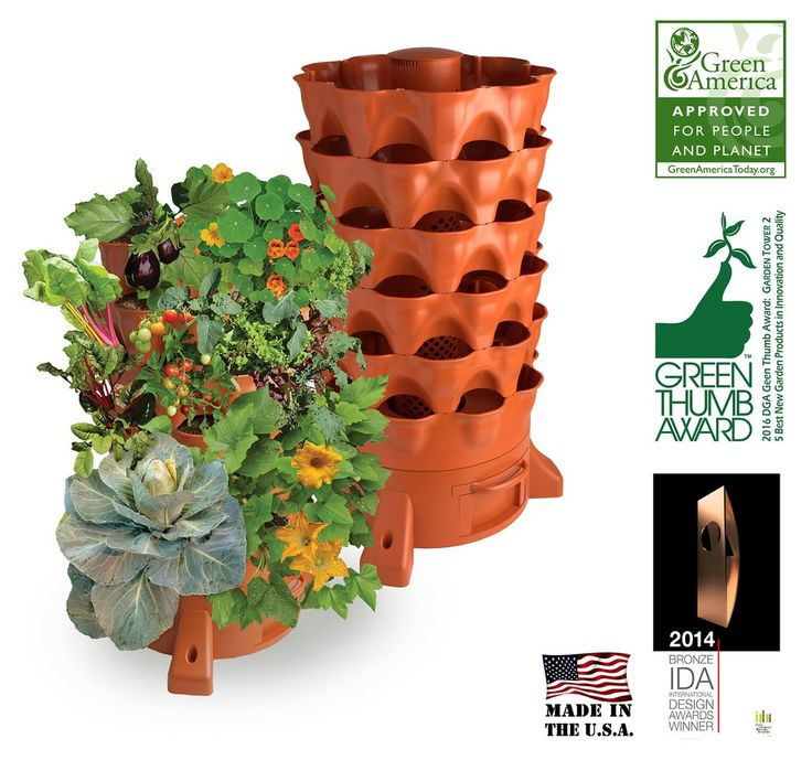 Plant Composting Container Garden
