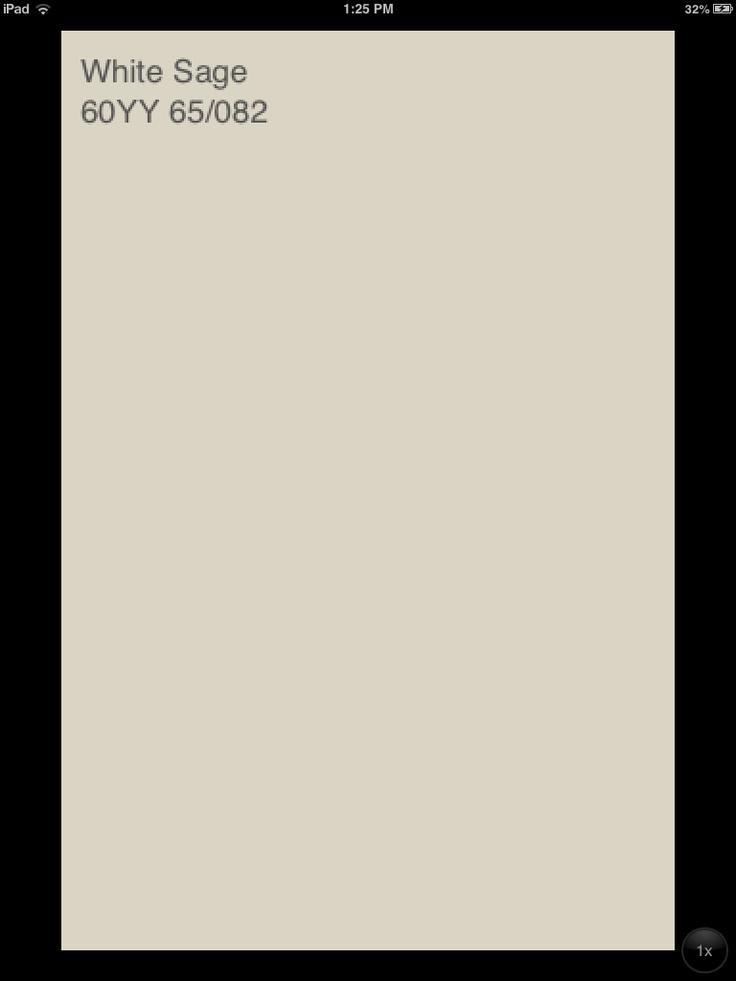 Adjacent Entry Way Color Glidden White Sage Semi gloss