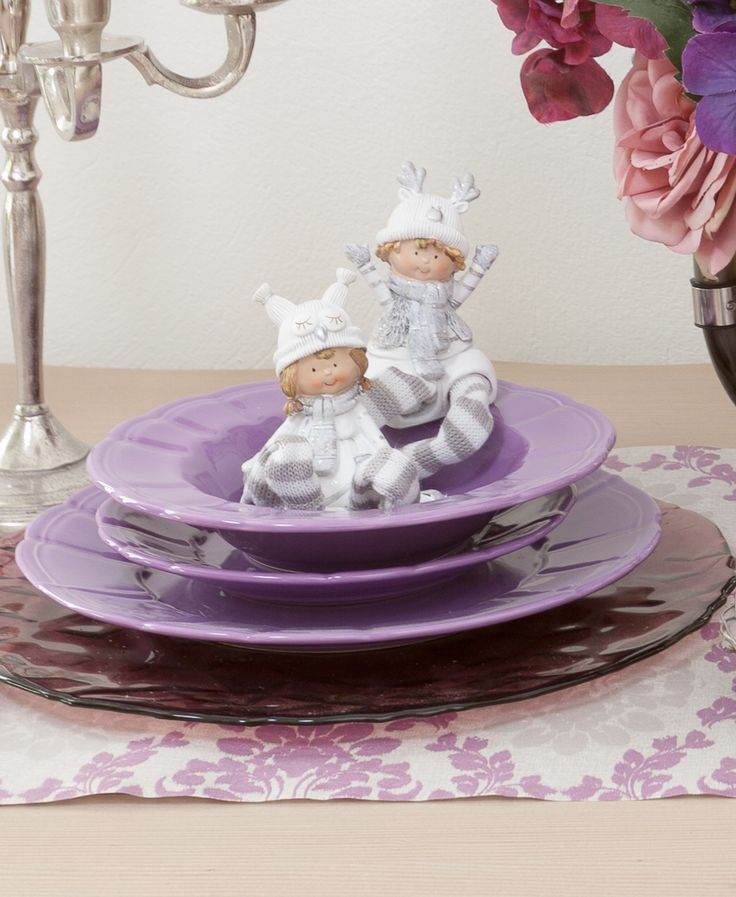 Childhood Decorations, Gifts for Children, Candy Purple Plates - only @ Chic Ville NOW