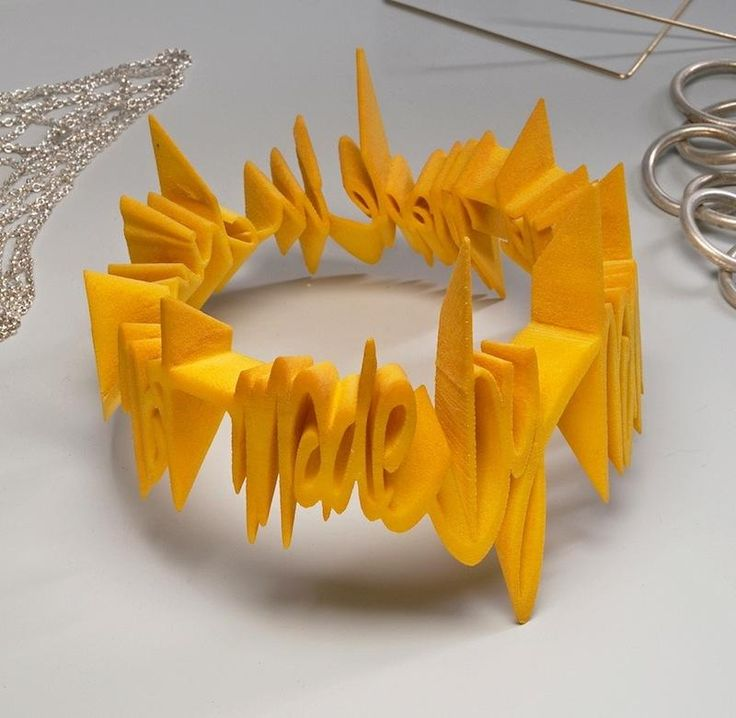 """bracelet """"Not made by Hand, Not Made in China"""", Rona Arad, 2002"""