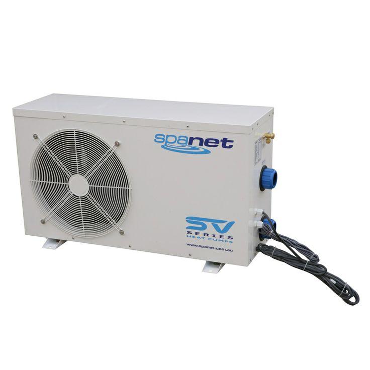 SpaNet Spa Heat Pump 5.5kw SpaNet SV http://spastore.com.au/spanet-heat-pump-sv-5-5kw/ #pool #spa #spapool #swimspa