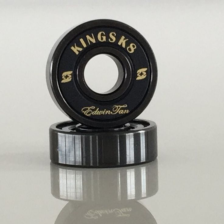 Skateboard Bearings Manufacturer of Kingsk8 Black Si3N4 Ceramic Ball Skateboard Bearings