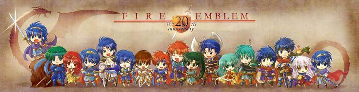 Tags: Nintendo, Eirik, Ephraim, Micaiah, Ike, Marth, Lyn (Fire Emblem), Fire Emblem: Path of Radiance, Roy (Fire Emblem), Eliwod, Hector (Fi...