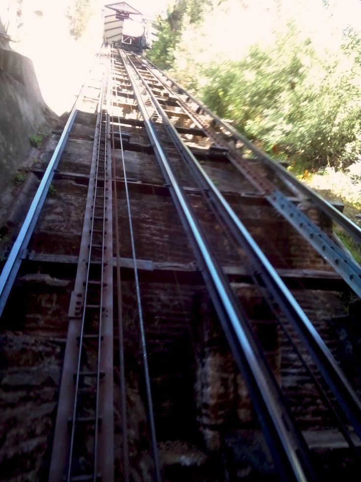funiculars in Valparaiso