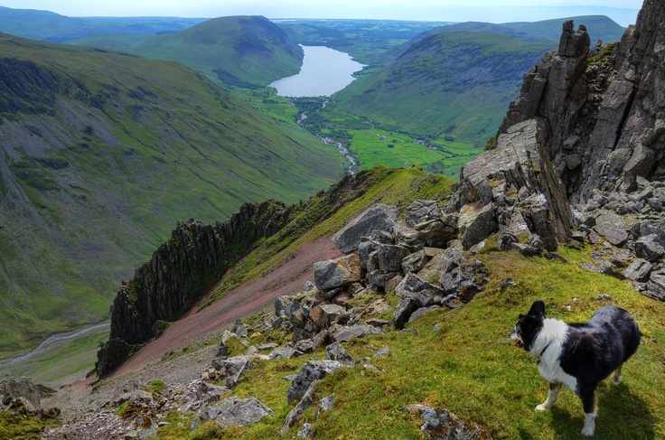 Great Hell Gate, Great Gable, Wasdale, Lake District, Cumbria, England