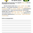 Directions: Read the paragraph. Then, circle the orange words that make the paragraph about what you like!  Students are given a short passage with...