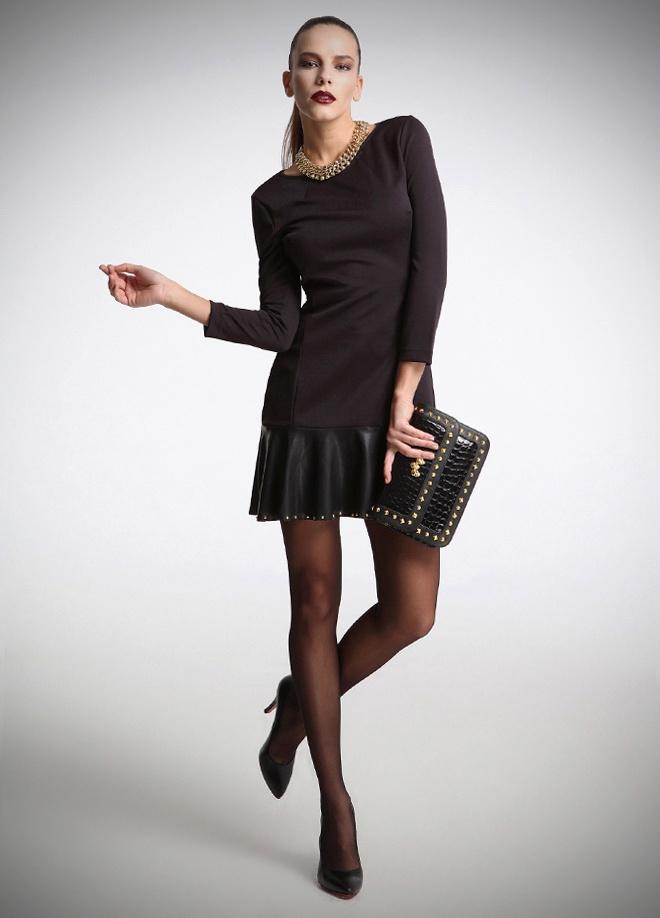 12 Burç 12 Stil kampanyasında Akrep burcu için First Chance ucu deri etekli elbise Markafoni'de 59,99 TL yerine 29,99 TL! Satın almak için: http://www.markafoni.com/product/3427687/