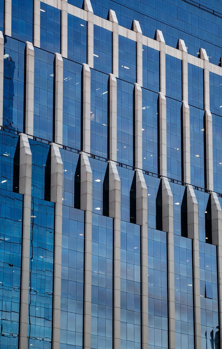 Ribbed reflections 2015 November, Santiago, Chile I really love modern building adopting the buttress look.  #reflections #architecture #glassandsteel #... - Vinod Kalathil - Google+