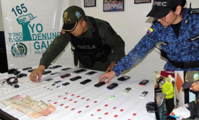 operativo al interior del centro carcelario el cunduy