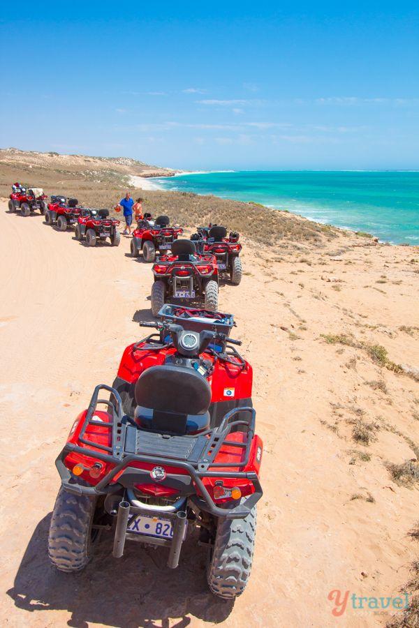 Go quad biking in Coral Bay, Western Australia - awesome fun and scenery!