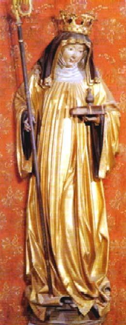 Santa Waldburgis de Heidenheim abadesa s. VIII