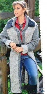 Легкое пальто в стиле кантри