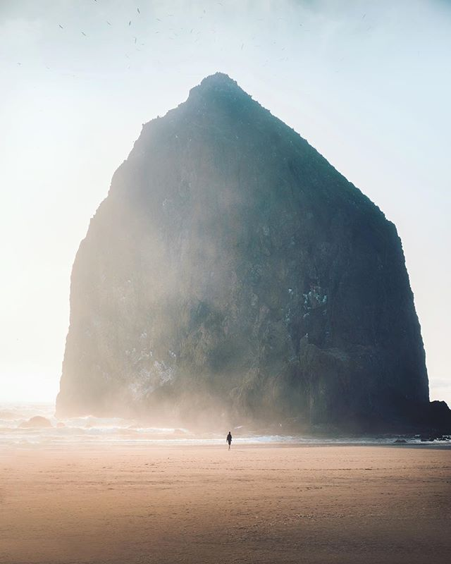 One Of My Favourite Shots From Cannon Beach In Oregon. I