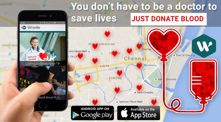 DO Whistle APP Blood can't be Manufactured, it has to be denoted. Be the best to Give and Get Blood for emergency -Do Whistle App https://goo.gl/o62mSE