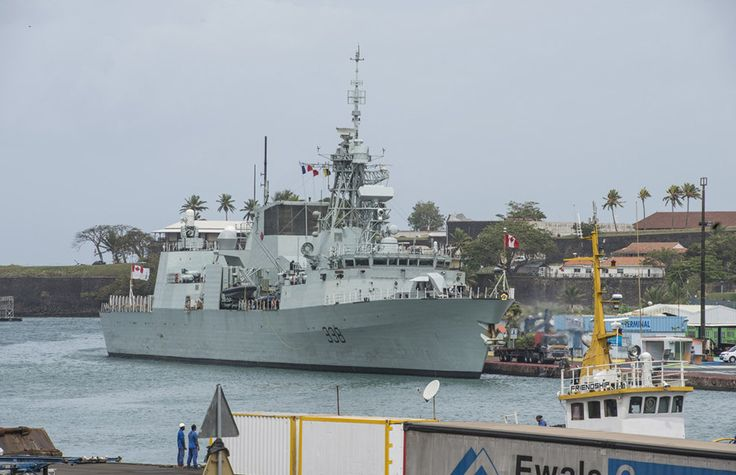 June 30-July 4, 2015,Canadian HMCS Winnipeg made ​​a technical stop at naval base of Fort-de-France.Winnipeg sailed 15 June 2015 from home port of Esquimalt,British Columbia to join NATO forces in Mediterranean,as part of assurance measures taken by Alliance in Central Europe & North.Before Mediterranean Canadian vessel deployed in West Indies to conduct Operation Caribbe -multinational campaign against illicit trafficking covering Caribbean,eastern Pacific & coastal waters of central…