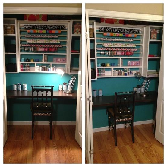 Love my craft closet