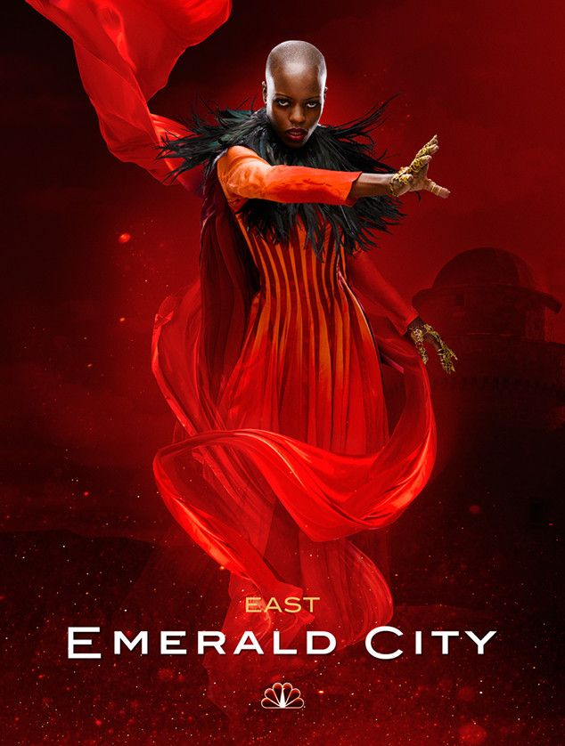 "Florence Kasumba as the Wicked Witch of the East in NBC's ""Emerald City"" (Click for Enlarged View)"