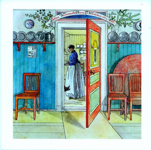 17 best images about carl larsson 1853 1919 on pinterest watercolour self portraits and the. Black Bedroom Furniture Sets. Home Design Ideas