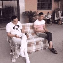 Bros sofa - more at http://www.thelolempire.com