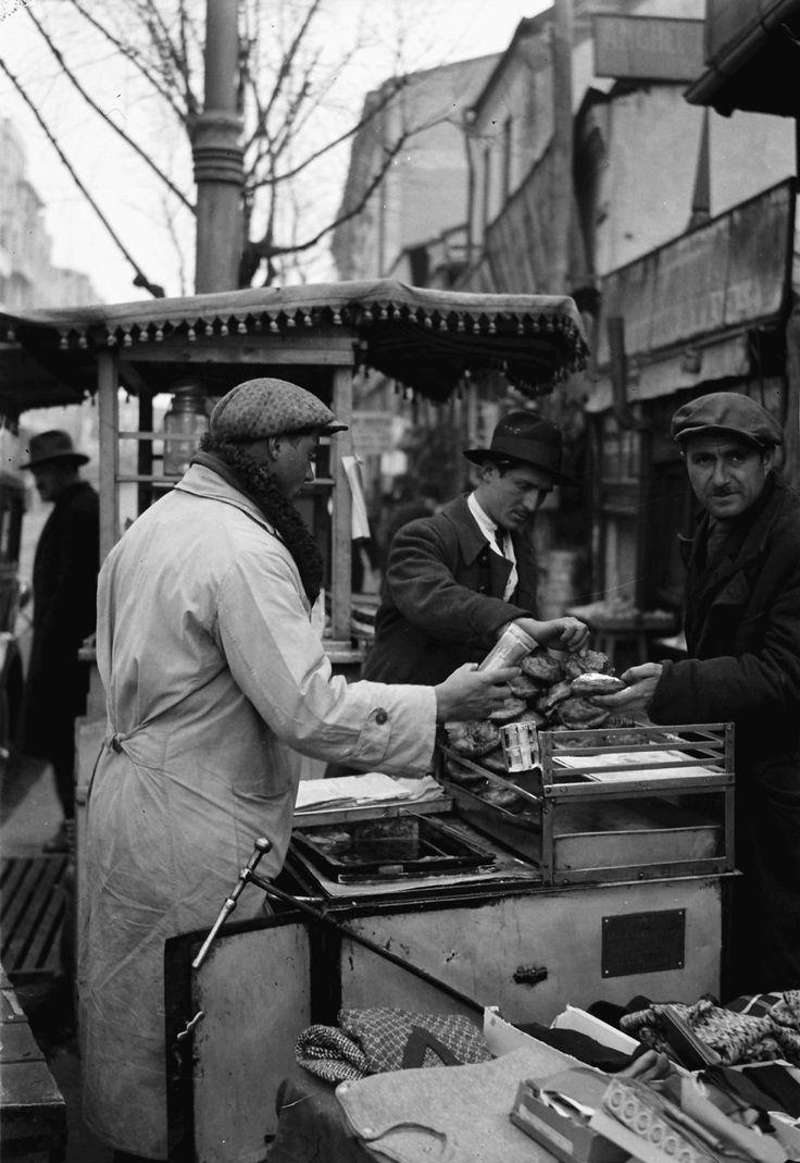 Pancakes seller, April 1932
