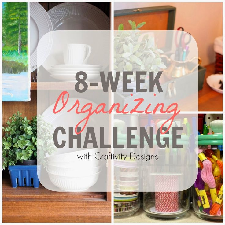 Over 175 Organizing Tips for the Home from this 8 Week Challenge!