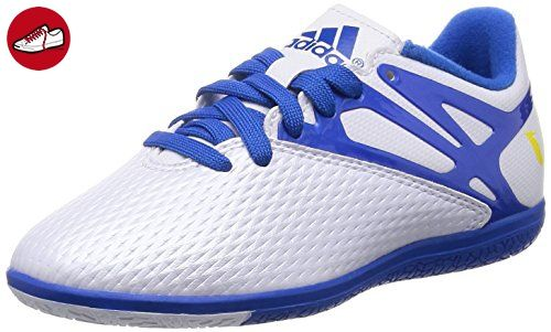 adidas Kinder Fussballschuhe MESSI 15.3 IN ftwr white/prime blue s12/core black 30 - Adidas schuhe (*Partner-Link)
