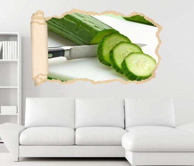 3d Wandtattoo Gurke Gurken Grun Kuche Tapete Wand Aufkleber Wandbild 11n1939 Ebay 3d Wandtattoo Wandtattoo Aufkleber