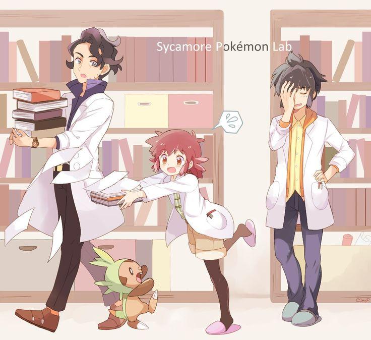 Sycamore Pokemon Lab♡♡