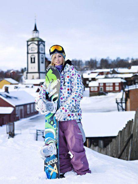 スノーボード ノルウェー代表 リン・ハウグ