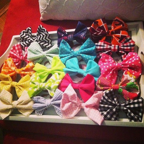 Bows, bows, bows!