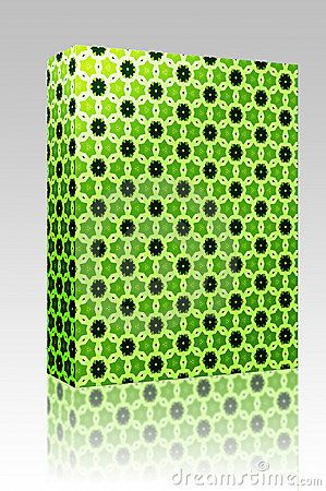 Retro pattern box package by Kheng Guan Toh, via Dreamstime