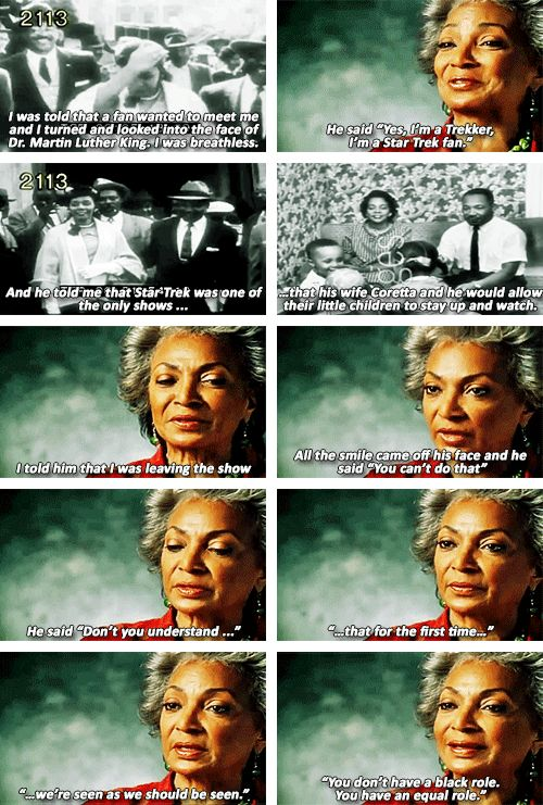 Nichelle Nichols. This is so awesome! #startrek